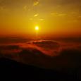 八方尾根の日の出