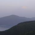 朝靄の富士