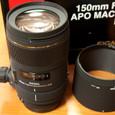 シグマ APO MACRO 150mm F2.8 EX DG HSM