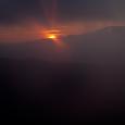 蓼科山の日の出